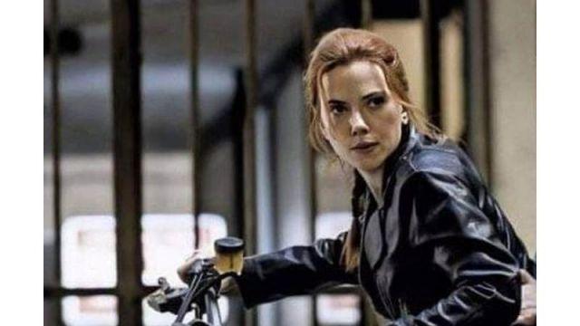 Motorcycle of Natasha Romanoff / Black Widow (Scarlett Johansson) in Black Widow