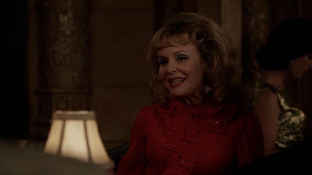 Cube Earrings worn by Peaches Rennet (Sarah Aldrich) in Mad Men (S06E06)