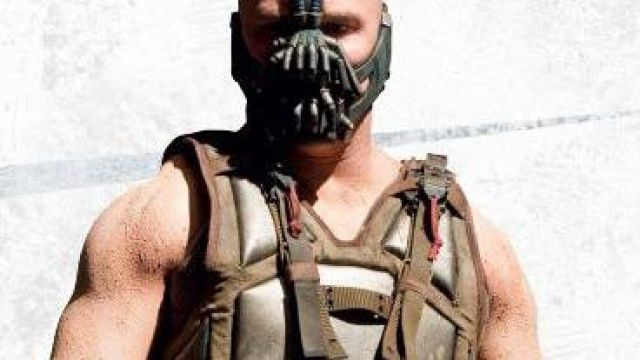 The Dark Knight Rises Bane Leather Vest of Bane (Tom Hardy) in The Dark Knight Rises