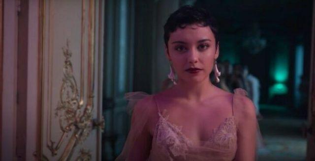 Earrings le bal of ariadna Carla Diaz in Elite