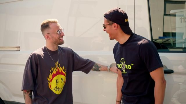 T-shirt de Squeezie dans SOS Streaming : 3 jours pour devenir le meilleur