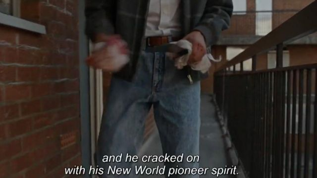 Jeans worn by Michael Pearson (Matthew McConaughey) as seen in The Gentlemen - Outfits from the movie