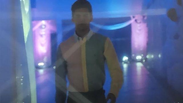 La chemise Ralph Lauren portée par Polo Benavent Álvaro Rico dans la série Élite (Saison 1 Épisode 8)