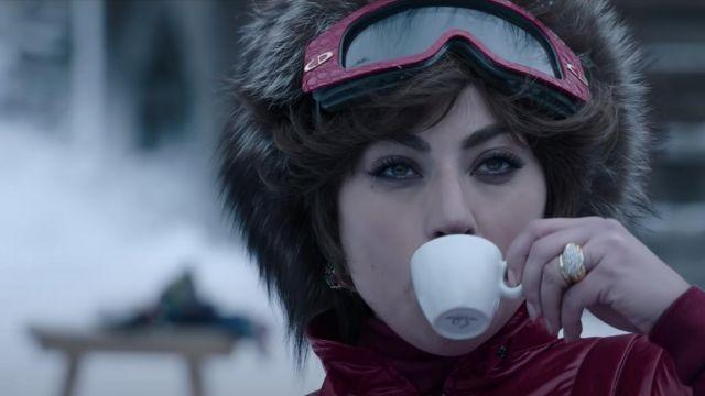 Christian Dior 2500 ski Goggle glasses worn by Patrizia Reggiani (Lady Gaga) in House of Gucci movie