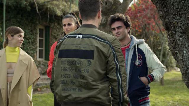 Le bomber Diesel portée par Guzmán Nunier (Miguel Bernardeau) dans la série Élite