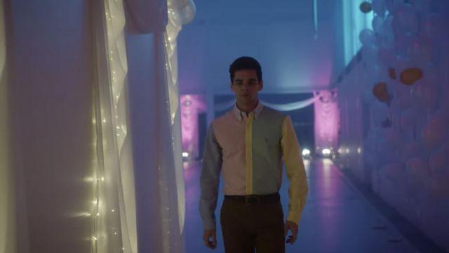 La chemise portée par Polo Benavent (Álvaro Rico) dans la série Élite (Saison 1 Épisode 8)