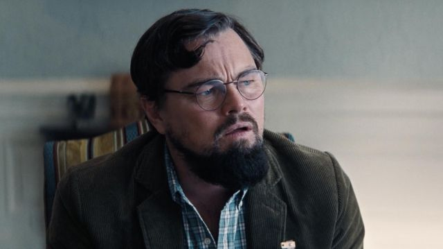 Eyeglasses worn by Dr. Randall Mindy (Leonardo DiCaprio) in Don't Look Up movie