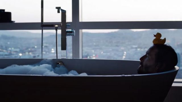 Bath Ducky used by Neo (Keanu Reeves) as seen in The Matrix Resurrections movie
