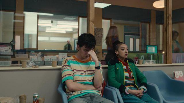 Casio digital watch worn by Otis Milburn (Asa Butterfield) as seen in Sex Education TV series (Season 3 Episode 8)