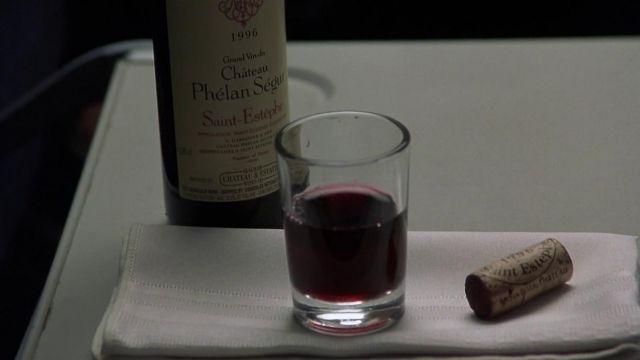 La bouteille Phélan Ségur 1996 de Hannibal Lecter dans Hannibal