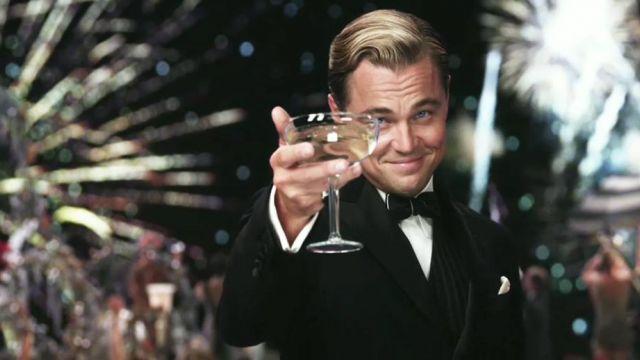 La coupe à champagne de Leonardo DiCaprio dans Gatsby le