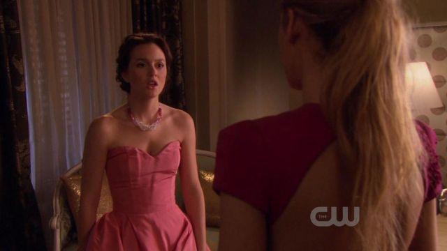La robe rose Christian Dior de Blair Waldorf (Leighton Meester) dans Gossip Girl