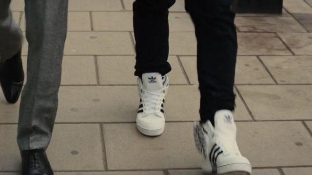 The Adidas Jeremy Scott Wings 2.0 white Gary 'Eggsy' Unwin