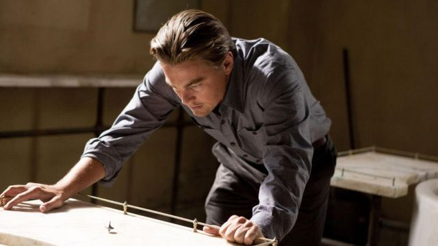 The spinning top of Leonardo DiCaprio in Inception