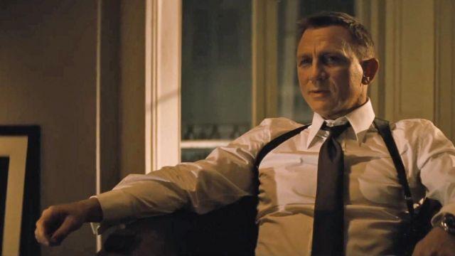 The cufflinks 'JB' Tom Ford Daniel Craig in Spectre