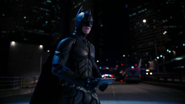 La masque de Batman (Christian Bale) dans The Dark Knight Rises