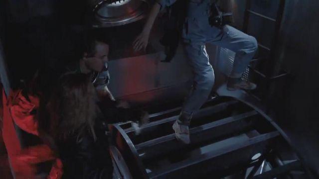 La paire emblématique Reebok Stomper portée par Elen Ripley (Sigourney Weaver) dans Aliens, le retour