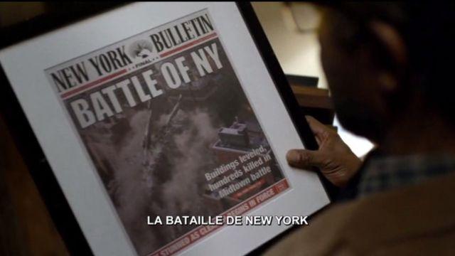 """The New York Bulletin """"Battle of NY"""" in Daredevil"""