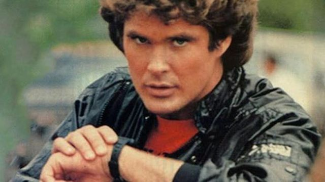 The digital watch of Michael Knight (David Hasselhoff) in