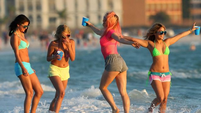 Le Bikini Victoria's Secret de Faith (Selena Gomez) dans Spring Breakers