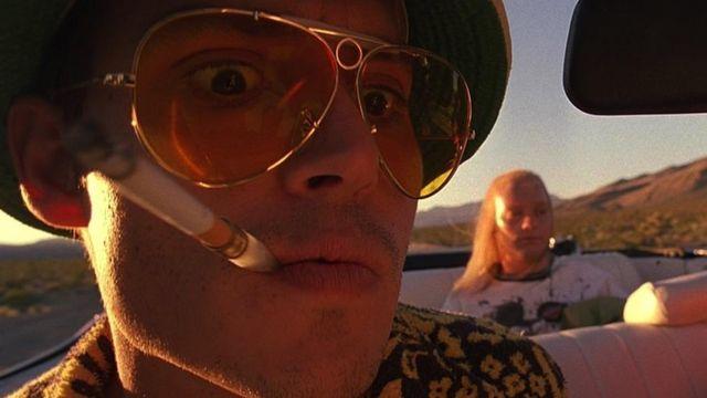Sunglasses Ray Ban Raoul Duke (Johnny Depp) in Las Vegas