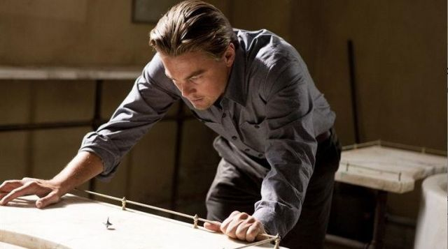 The replica of the spinning top of Dominic Cobb (Leonardo DiCaprio) in Inception