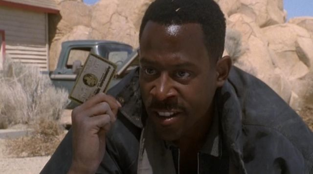 The American Express card of Terrance Paul Davidson (Martin Lawrence in Nothing to lose