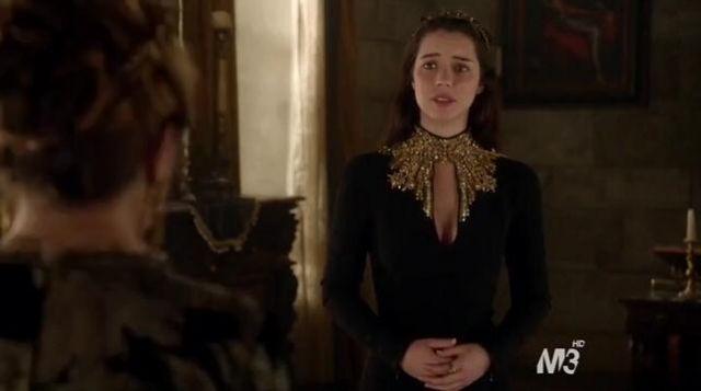 La Mcqueen Robe Reign Noire S01e22Spotern Dans Alexander QxsCrthd