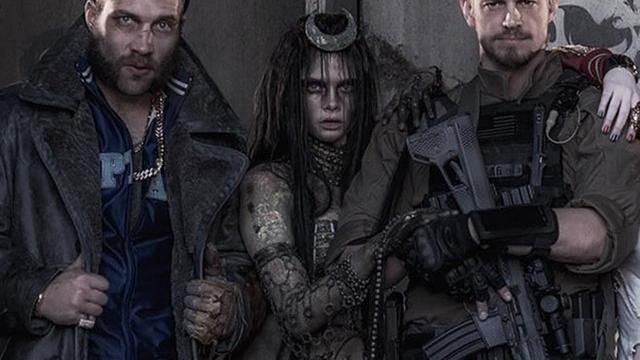The Costume Of The Enchantress Cara Delevingne In Suicide Squad