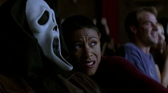 costume mask from scream 2 that was used in the film | Spotern