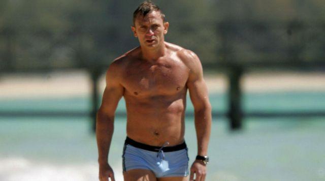 The boxer bath GrigioPerla Maurilio James Bond (Daniel Craig) in Casino Royale