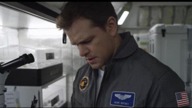 Mark Watney (Matt Damon) NASA Patch in The Martian