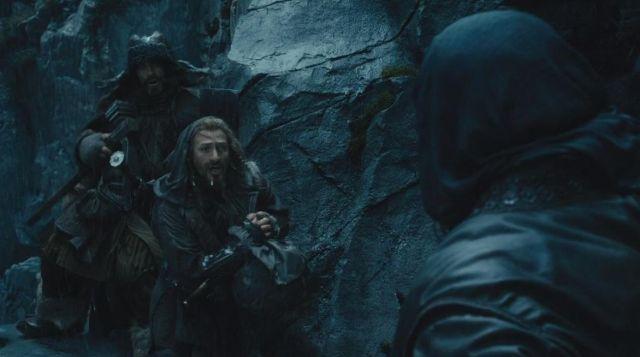 Les brassards de Fíli (Dean O'Gorman) dans Le Hobbit