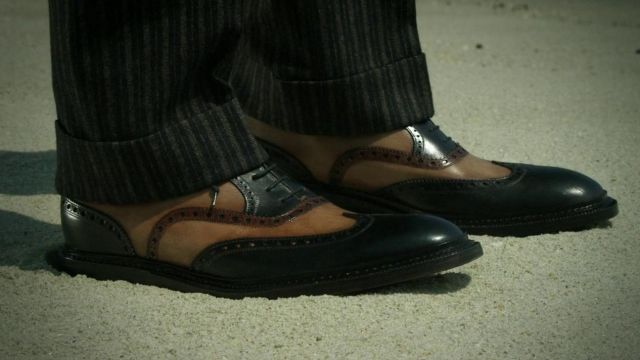 Oxford Shoes worn by Nucky Thompson's (Steve Buscemi) as seen in Boardwalk Empire
