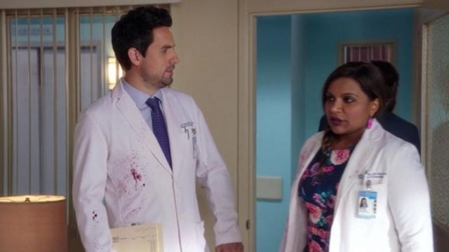 The dress Mindy Lahiri (Mindy Kaling) in The Mindy Project