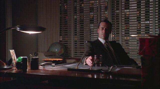 The authentic ashtray toucans of Don Draper (Jon Hamm) in Mad Men