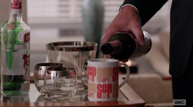Mad Men Sterling Cooper and Partners Mug as seen on Mad Men