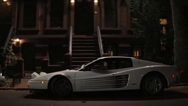 White Ferrari Testarossa driven by Jordna Belfort (Leonardo DiCaprio) as seen in The Wolf Of Wall Street