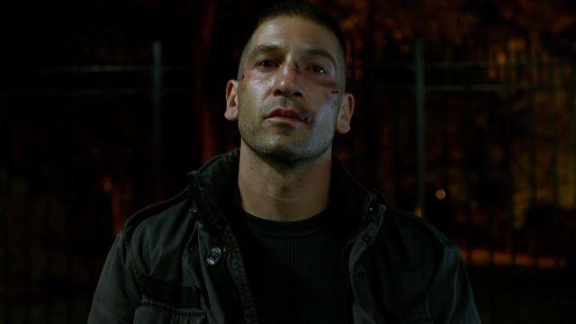 The jacket Strellson of Frank Castle / The Punisher (Jon Bernthal) in Daredevil