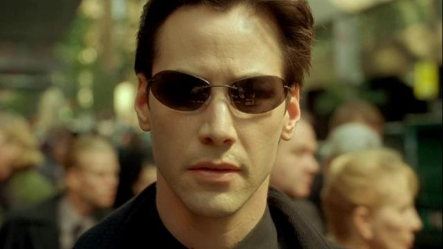 La réplique des lunettes de soleil de Neo (Keanu Reeves) dans The Matrix