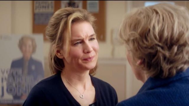 The necklace Tiffany & Co Elsa Peretti Bridget Jones (Renée Zellweger) in Bridget Jones's Baby