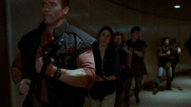 La montre Casio G-Shock de Ben Richards (Arnold Schwarzenegger) dans The Running Man