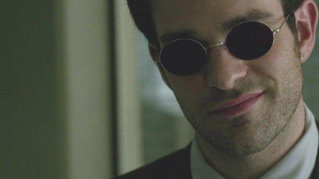 Les lunettes de Daredevil aka Matt Murdock (Charlie Cox) dans Daredevil