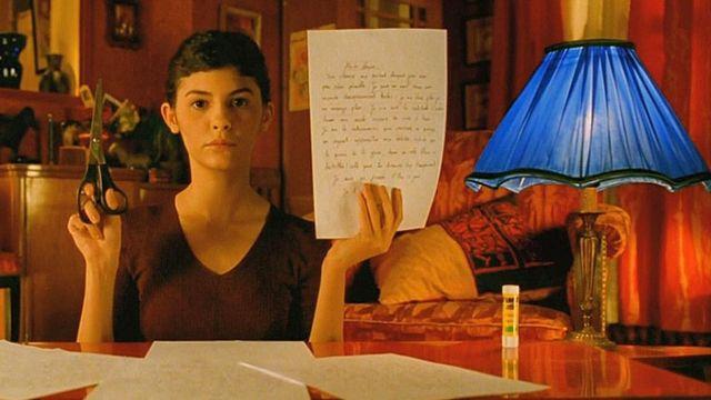 La paire de ciseaux utilisée par Amélie (Audrey Tautou) dans Le Fabuleux destin d'Amélie Poulain