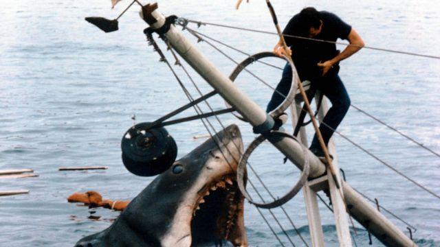 Les chaussures bateau Sperry de Martin Brody (Roy Scheider) dans Les dents de la mer