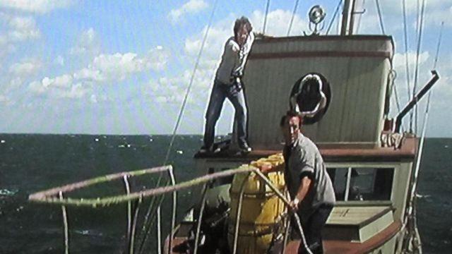 Les chaussures bateau Sperry de Hooper (Richard Dreyfuss) dans Les dents de la mer