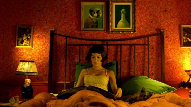 La lampe cochon de Amélie (Audrey Tautou) dans Le Fabuleux Destin d'Amélie Poulain