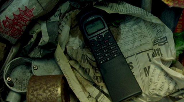 Nokia 8110 cellphone as seen on The Matrix