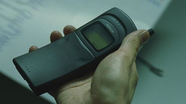 Nokia 8110 Cellphone of Neo / Thomas A. Anderson (Keanu Reeves) as seen on The Matrix