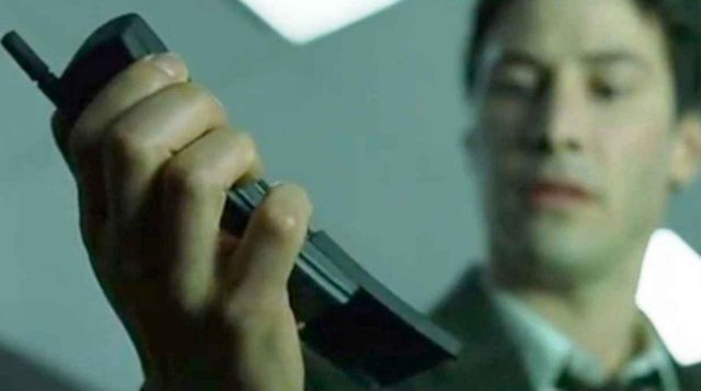 Nokia 8110 cell phone used by Neo / Thomas A. Anderson (Keanu Reeves) in The Matrix